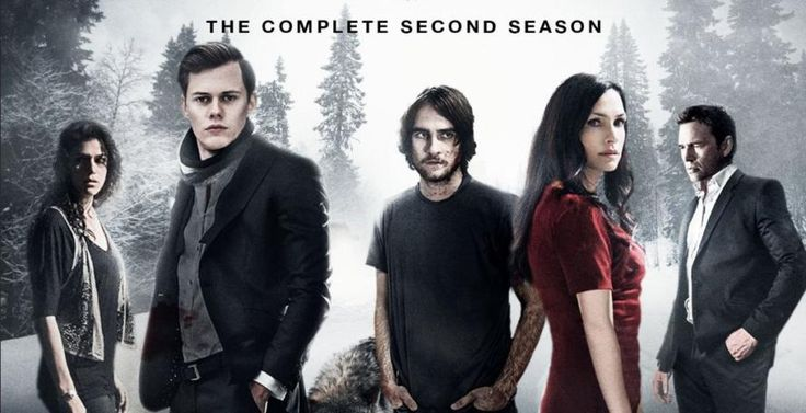 Hemlock Grove season 2 will be out on DVD/Blu-ray come April.