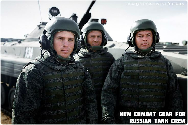 New combat gear for Russian tank crew