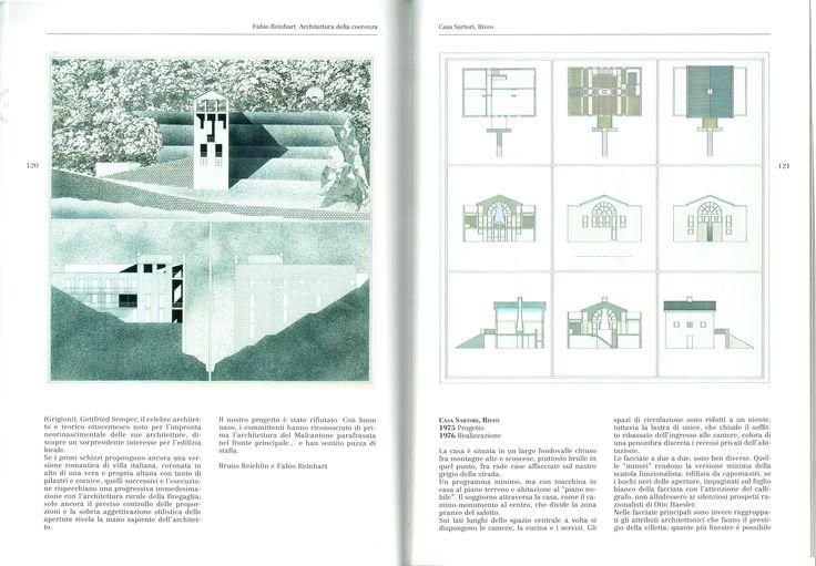 Bruno Reichlin, Fabio Reinhart, House, Vezio, 1975 (Fabio Reinhart, Francesco Saverio Fera, Luca Conti, Fabio Rein- hart: architettura della coerenza, Bologna, Clueb, 2007, p. 120)
