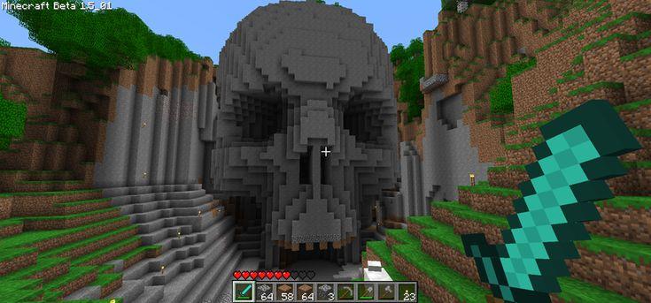 Image result for minecraft skull