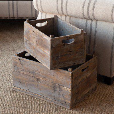 Great Site - Our vintage crates are produce crates that are perfect for storing garden harvested vegetables and holding supplies. These crates convey such incredible character and charm and will also be useful for organizing! For more visit, www.decorsteals.com OR www.facebook.com/decorsteals.com.