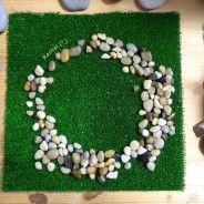 """Independently created stone circle from one of my 4 year olds - shared by Rachel ("""",)"""