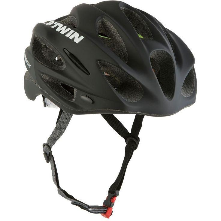 CICLISMO - Protecciones Ciclismo - CASCO BICICLETA 700 NEGRO B'TWIN - Ropa, cascos y complementos de ciclismo