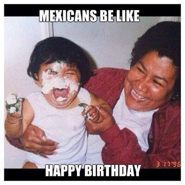 Happy Birthday- Mexican Style