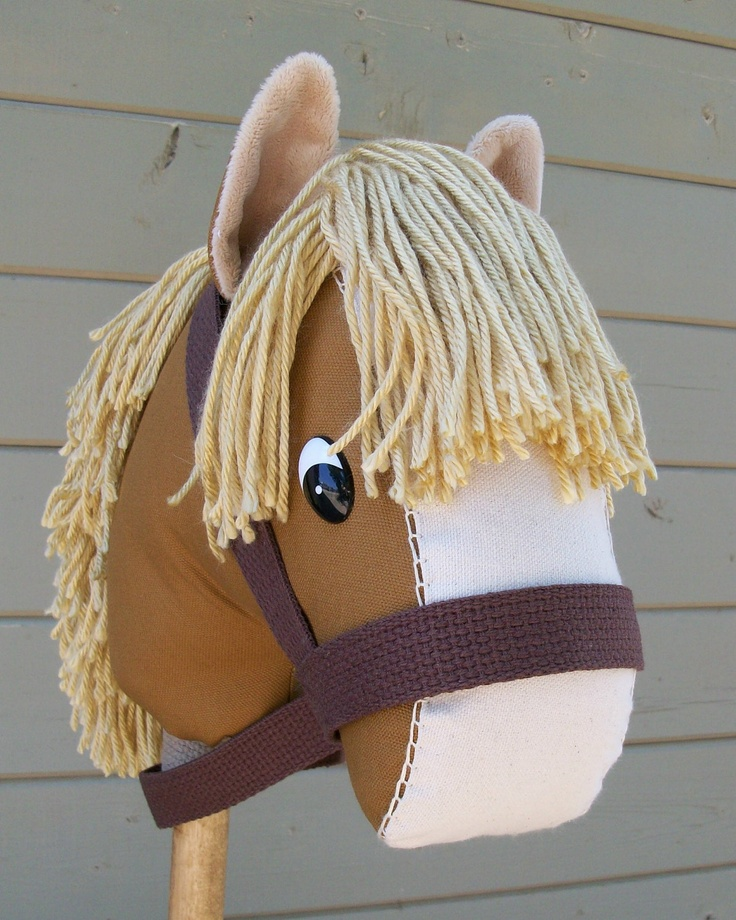 Stick Horse Nutmeg Ready to Ride