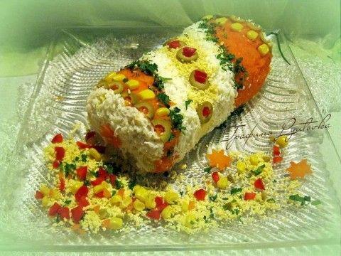 Салат «Новогодняя хлопушка»!  Салат «Рыба-клоун»