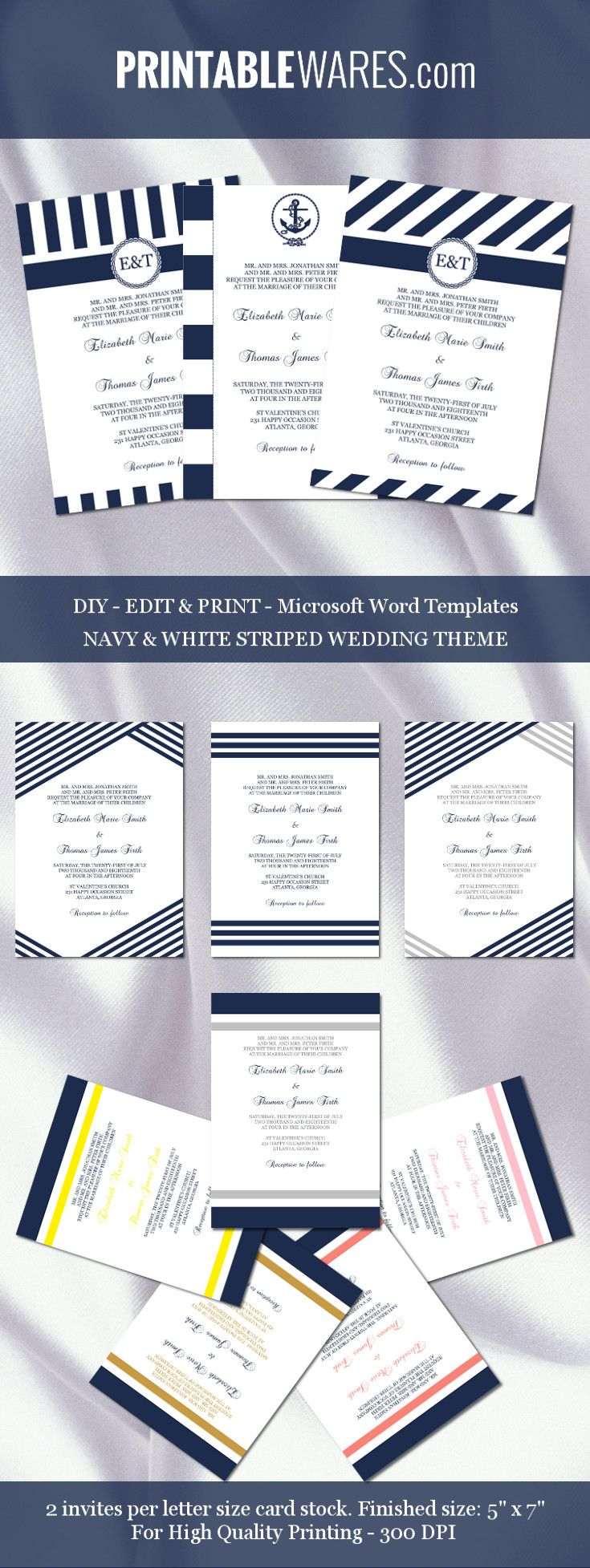 790 best Wedding Templates images – Microsoft Word Templates Invitations