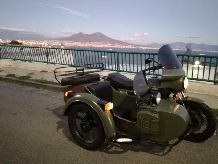 Moto Guzzi T3 850 sidecar il Vesuvio
