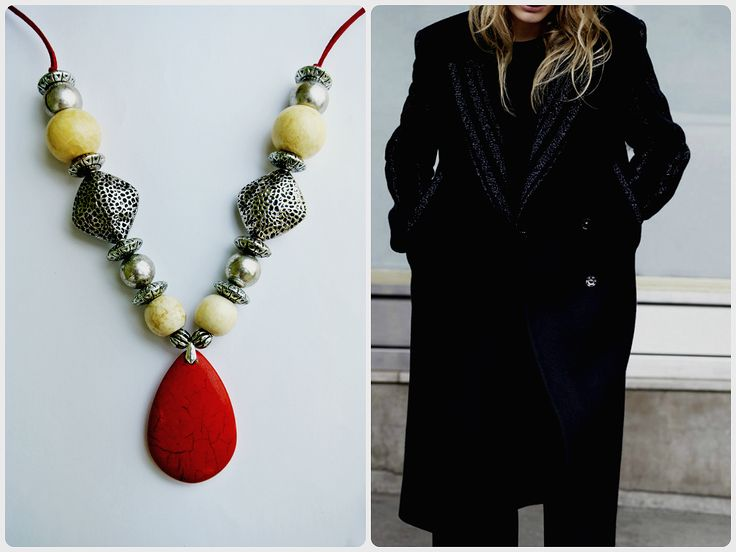 HAVA Collection - Red 02 Necklace
