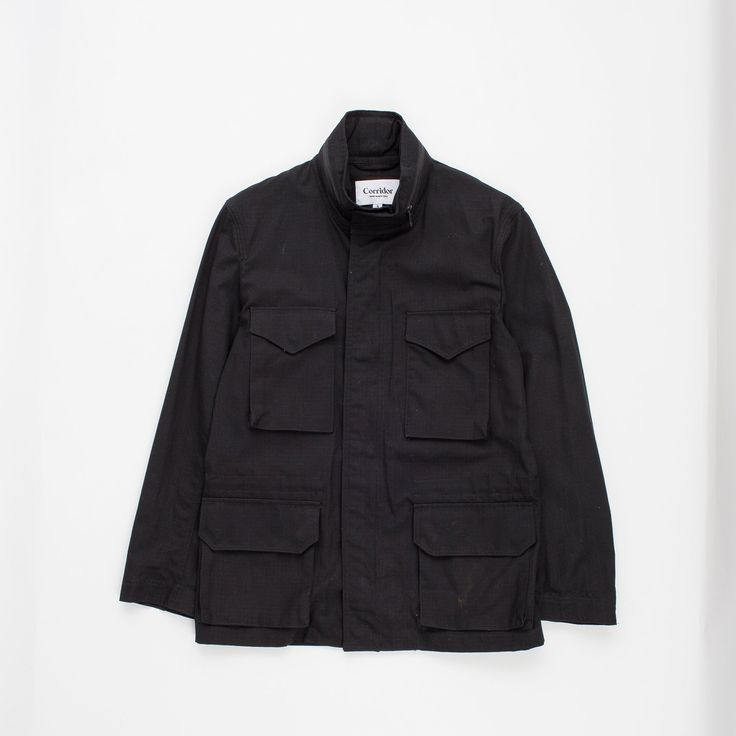 Corridor Black Unlined Ripstop M65 Jacket