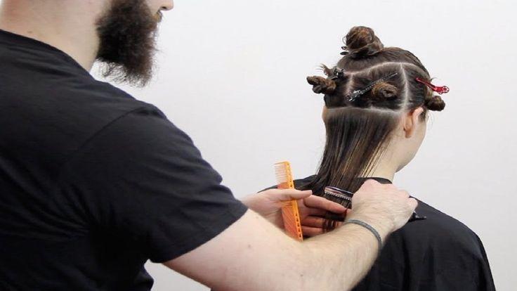 The Best  bob hair cutting techniques - Short bob haircut with bangs