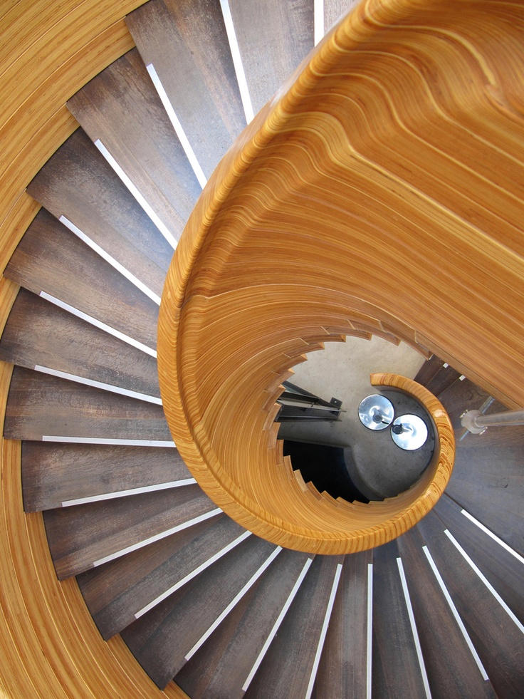 Staircase At The Edinburgh Royal Botanical Gardens Visitor Centre, Scotland