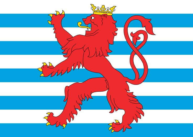 Civil Ensign of Luxembourg - Luxemburg (land) - Wikipedia