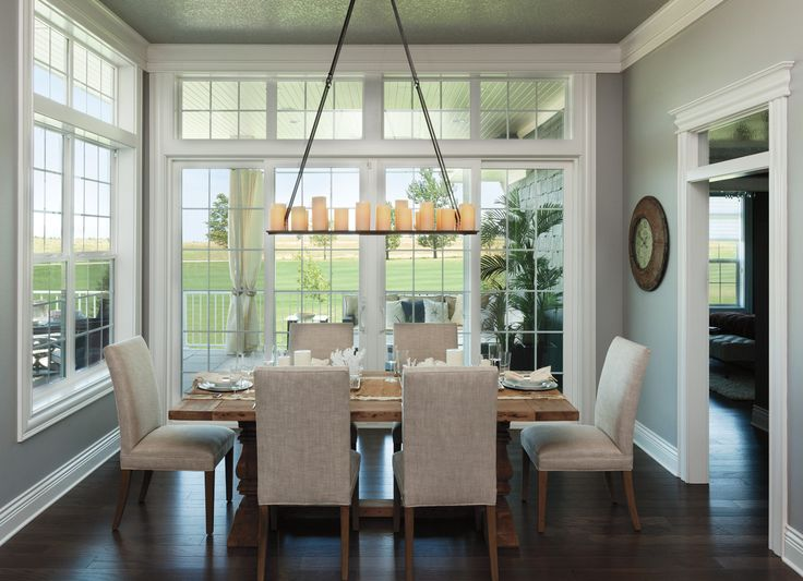 I love all this light streaming into the home!  Craftsman Bungalow - Pella® 350 Series Sliding Patio Doors | Pella Photo Gallery