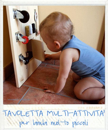 My toddler's activity board (italian blog)