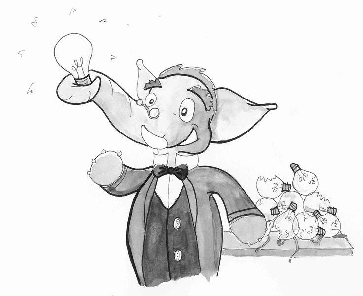 Thomas Edison elephant