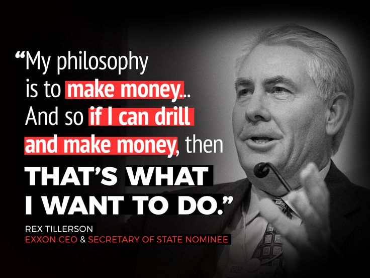 It's up to us to stop the CEO of Exxon from becoming Secretary of State — so let's get to work!