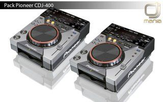 CDJ-400 - Pioneer Pack 2 unidades