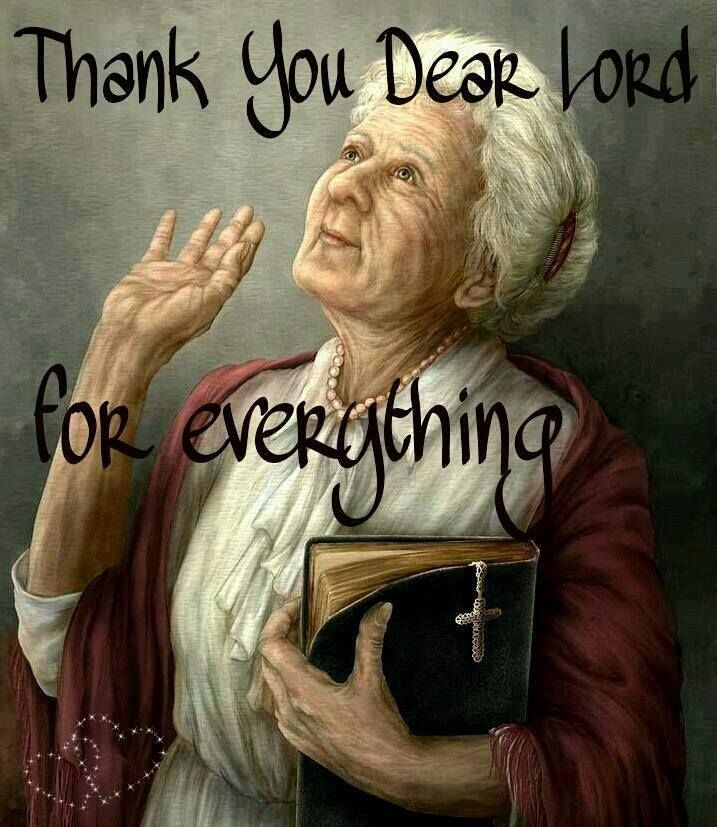 .Thank You Lord for everything