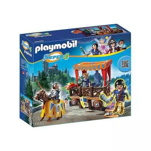 Playmobil 6695 Tribuna Real Con Alex - $ 1.599,99