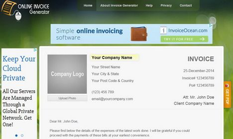 15 Free Invoice Creators \ Generators Free invoice creator and - online invoice maker free