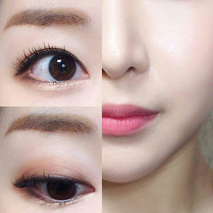 Las 25 mejores ideas sobre maquillaje coreano en for Como se maquillan los ojos ahumados