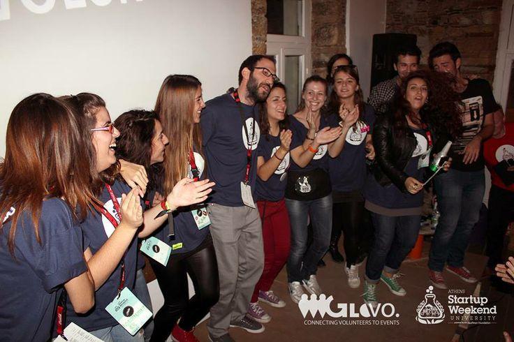 GloVo @ Athens Startup Weekend University 2013