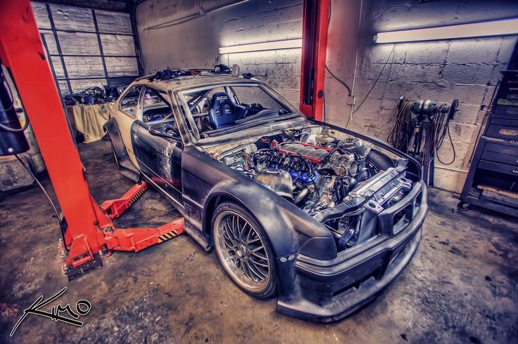 Bmw Corvette Motor Drifting Car Front Engine Jpg