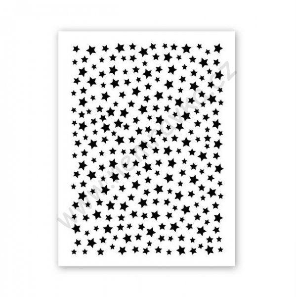 Plastová šablonka v designu Nemravka vhodná pro různé kreativní techniky.