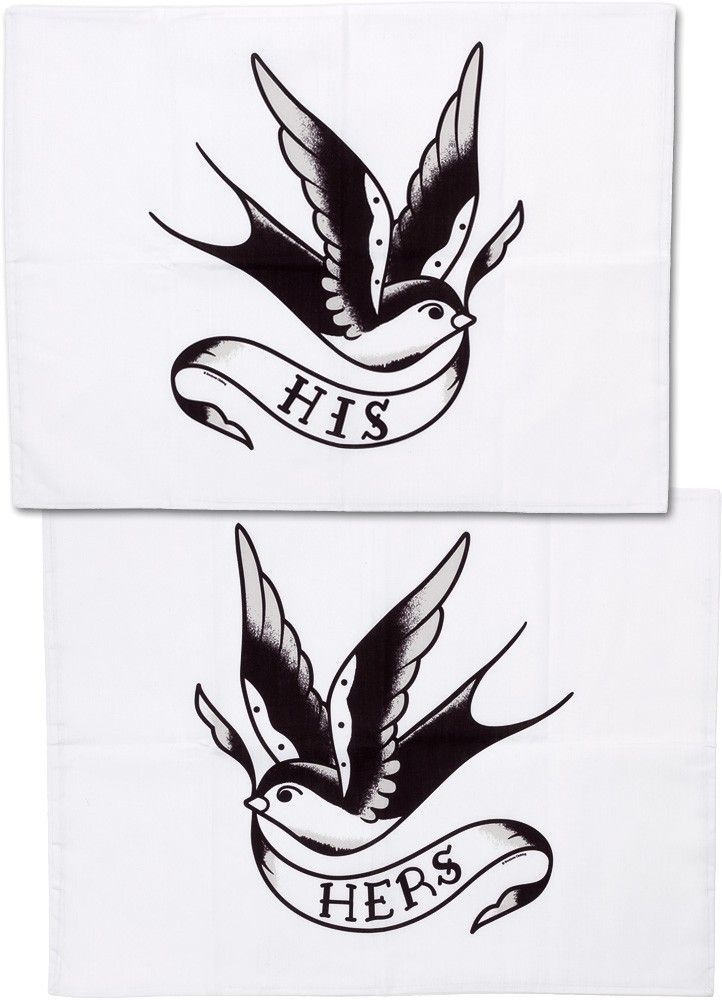 Made By Sourpuss65% Cotton, 35% PolyesterSet of 2 Standard size Pillowcases