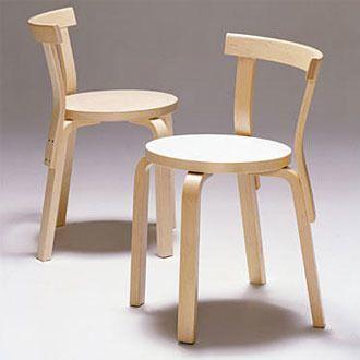 Chair 68 (1933-35) | Alvar Aalto | Artek