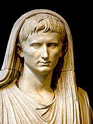 Augusto di Via Labicana; fine I secolo a.C.-inizio I secolo d.C.; marmo; pendici del Colle Oppio, via Labicana; Museo Nazionale Romano, Roma.