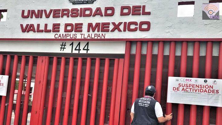 #AccesoInf Clausuran Universidad del Valle de México (UVM) campus Tlalpan por incumplir disposiciones de Protección Civil en la CDMx. La sanción se aplicó tras una revisión por parte de la delegación Tlalpan, en coordinación con el Instituto de Verificación Administrativa de la Ciudad de México (INVEA) al determinar que existe una violación a diversas disposiciones en materias de protección civil y administrativa.