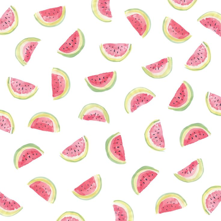 Watermelon slices // Sarah Jager Design #watermelons #print #fruity