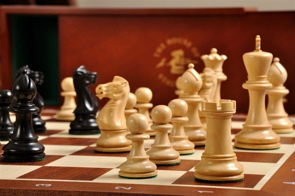 $179 - The Grandmaster Chess Set and Board Combination