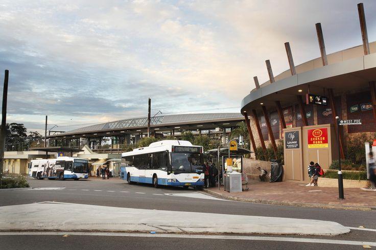 Eastwood train station and transport hub, Eastwood NSW #Eastwood #Train #Bus #Station #EastwoodVillage #RydeLocal #CityofRyde