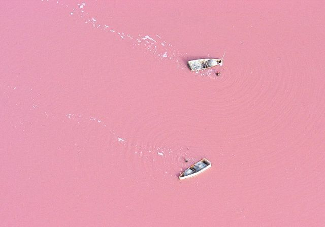 Pink Lake Retba, Senegal