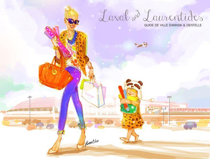Guide de ville Laval & Laurentides sur le blogue de Damask & Dentelle.