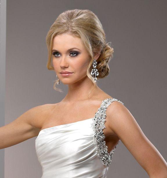 Peinados modernos para novias peinados pinterest search - Peinados de novia modernos ...