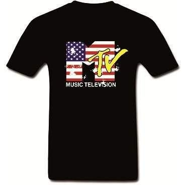 MTV Music Television T Shirt - OUCH-O-HOLICS SHOP OBSESSIONS
