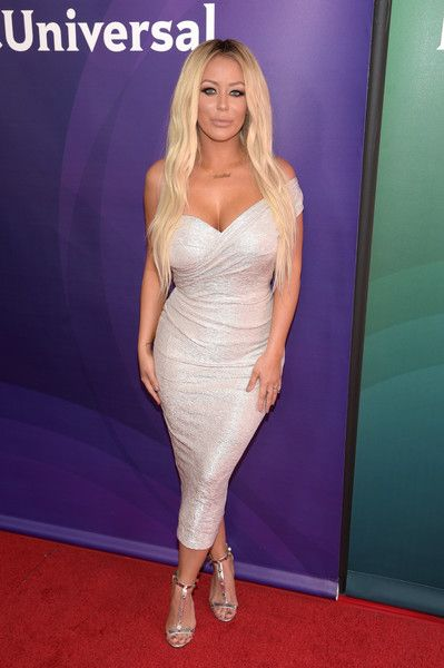 Aubrey O'Day Photos Photos - TV personality Aubrey O'Day attends the 2016 NBCUniversal Summer Press Day at Four Seasons Hotel Westlake Village on April 1, 2016 in Westlake Village, California. - 2016 NBCUniversal Summer Press Day