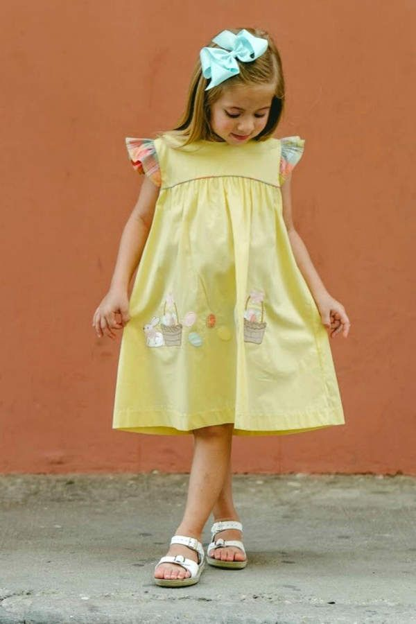adef9c1ef Cutest chambray dress - does it come in big people sizes, too? #easter # easterdress #dress #ad