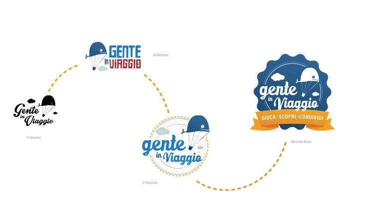 """Come nasce un Logo? Ecco quello realizzato per il team di """"Gente in Viaggio"""" @Genteinviaggio  #logo #evermind"""