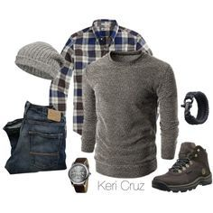 The Rugged Man- Winter Edition, created by keri-cruz on Polyvore