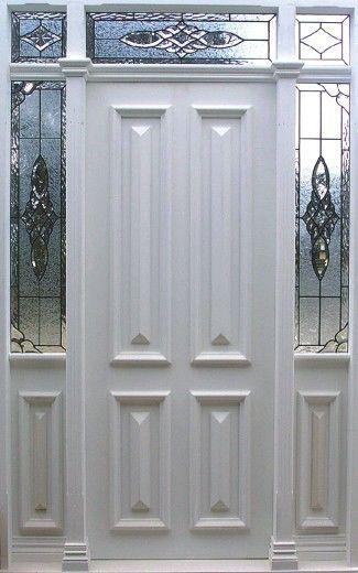 Internal & External Doors, Front Doors, Leadlight, Glazing options