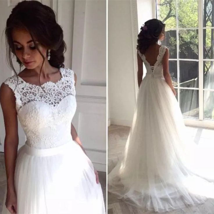 176 best Mermaid A-Line Style of Lace Wedding Dresses images on ...
