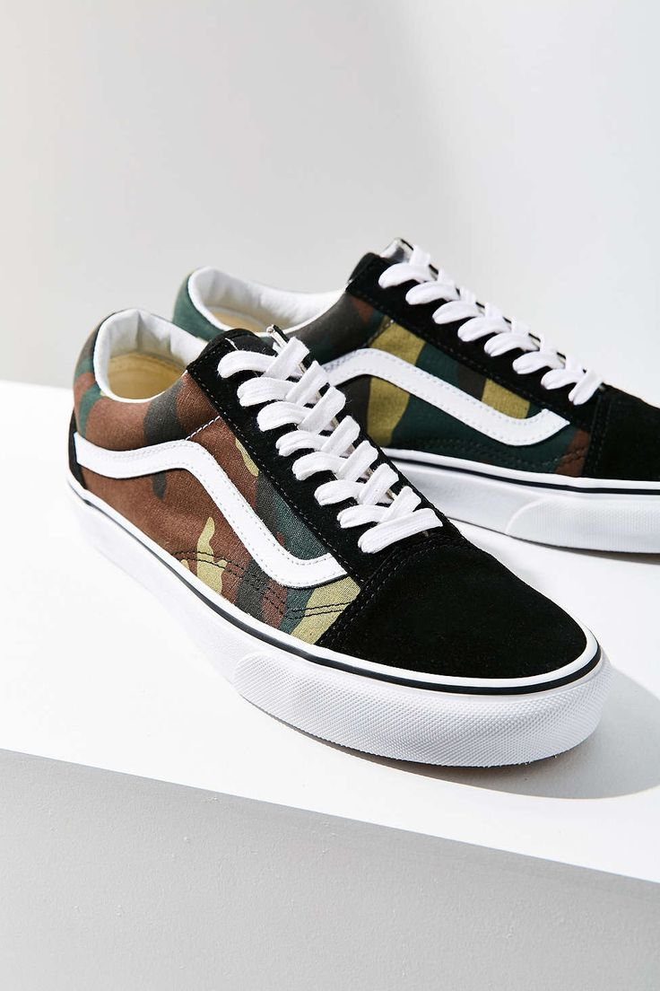 Vans X UO Camo Old Skool Sneaker WANT WANT WANT