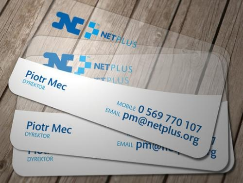 Latest Business Card Transparent Designs