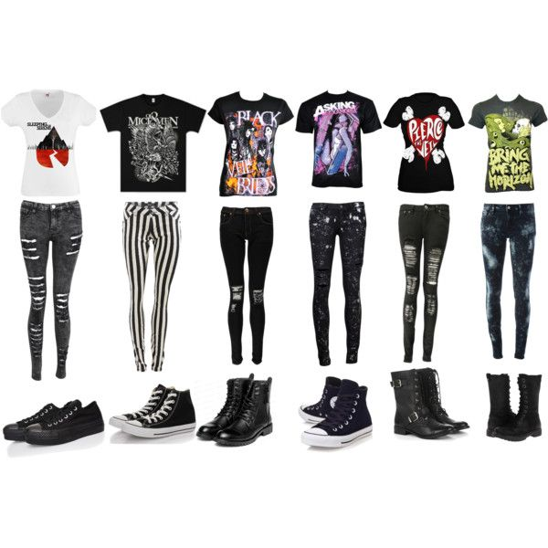 Band merch (I want them all) add Falling in reverse and I'm super happy