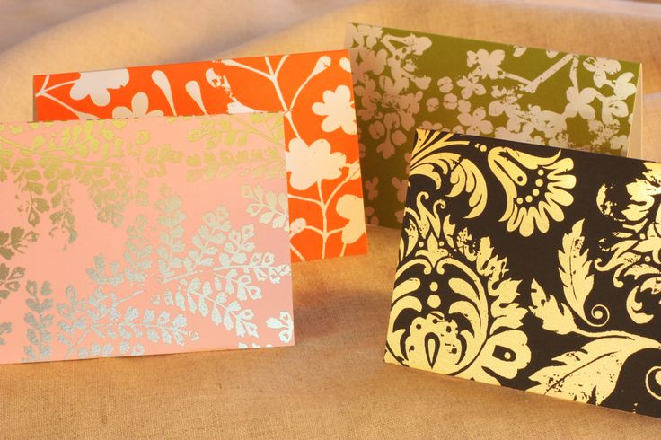 Our 2014 Distressed Foil Assortment Collection.